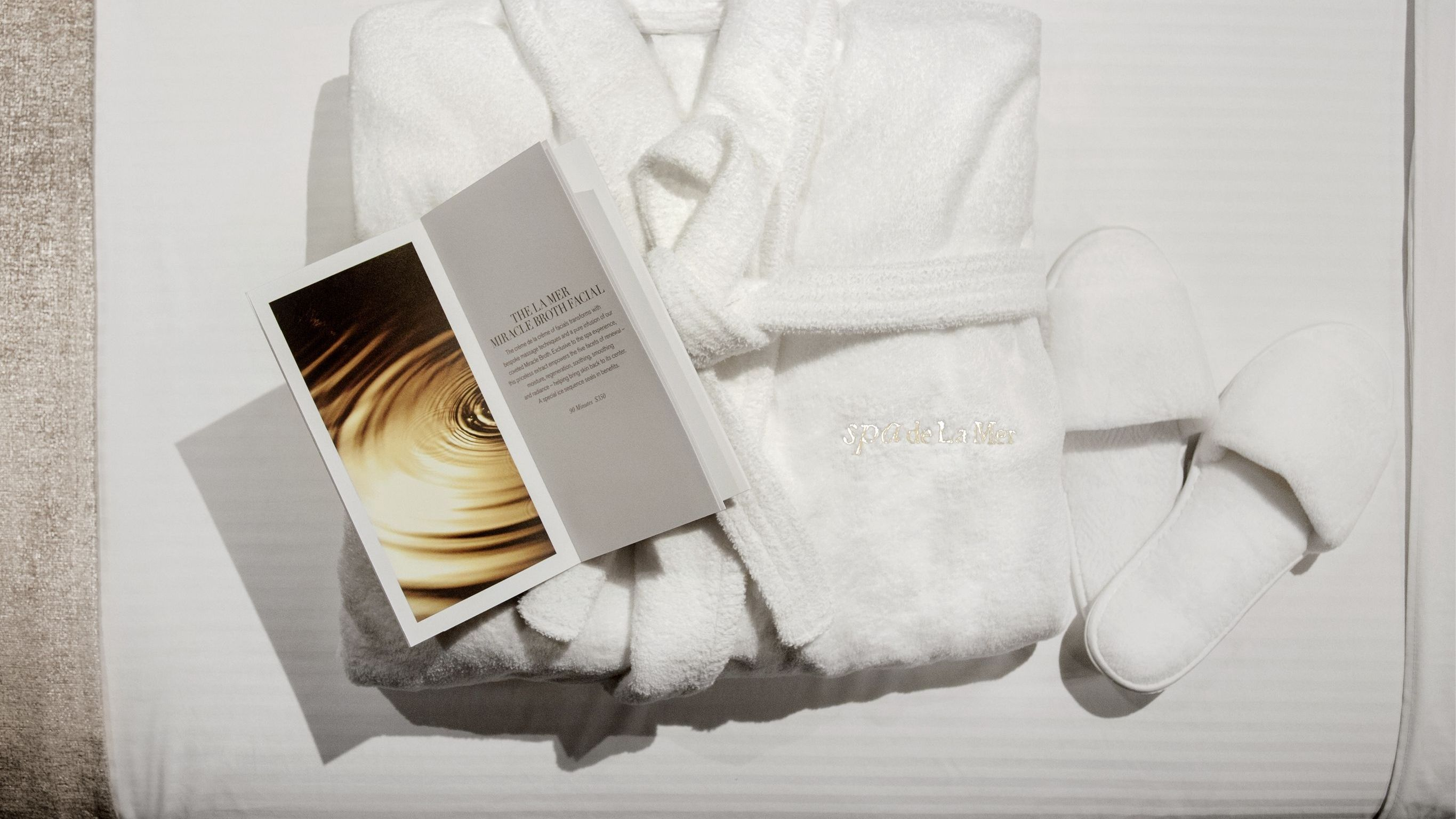 Day Spa package - Spa La Mer, Hotel President Wilson, A Luxury Collection Hotel, Geneva