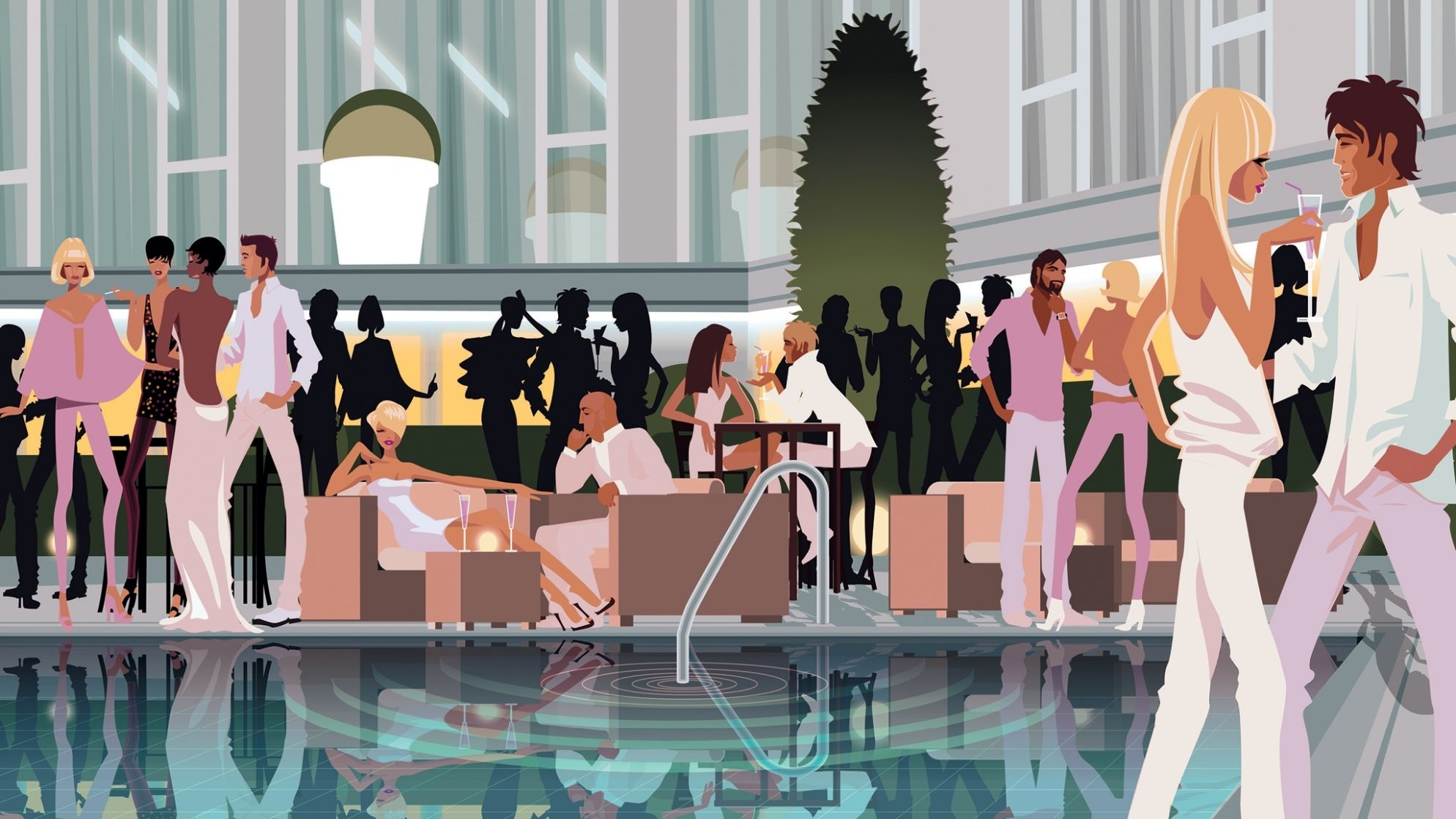 Chill sessions - Poolgarden - Hotel President Wilson, A Luxury Collection Hotel, Geneva